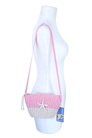 wholesale beach purses crochet sling bag