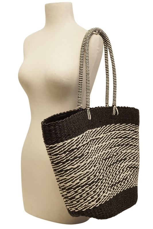 0a2a98d08d0 2504 Mixed Color Straw Beach Tote