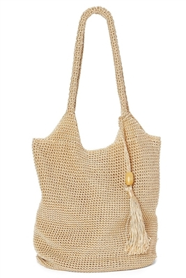 Sku 2511 Nylon Crochet Handbag Or Shoulder Bag