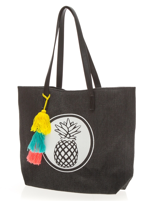 Wholesale Beach Bags With Pineapple And Tassels