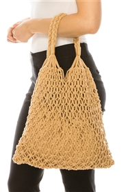 wholesale Cotton Macrame Shoulder Bag