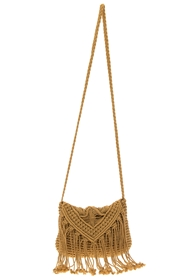 wholesale Cotton Macrame Crossbody Purse