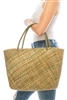 Wholesale Handwoven Seagrass Tote Bag