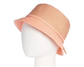 wholesale striped straw bucket hat