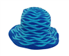 wholesale wavy straw and ribbon bucket hat