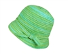 wholesale space-dyed straw bucket hat