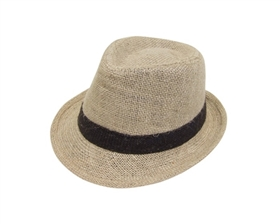 wholesale child's hemp fedora