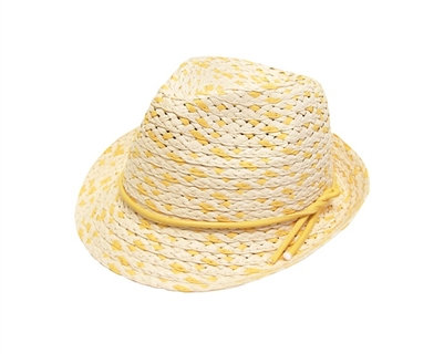 wholesale kids natural straw fedora hat for summer
