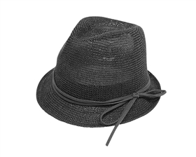 dffbab69a06 Wholesale Kids Fedora Hats 2926 Kid s Knitted Straw Fedora