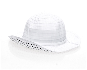kids summer hats ribbon crusher sun hat polka dots