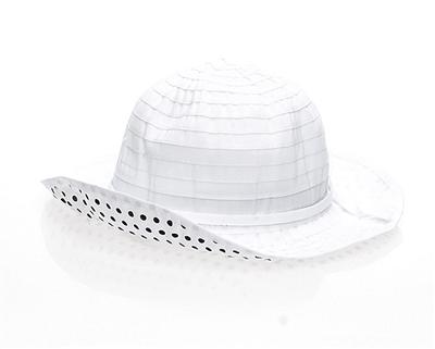 c9c574ec1 2931 Kid's Sun Hat w/ Dot Underbrim