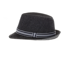 wholesale kids fedora hats - denim