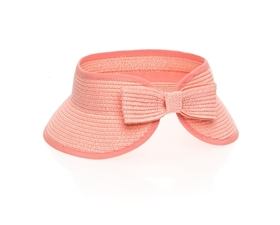 wholesale kids visors hats straw summer childs hat
