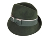 wholesale asymmetrical wool felt fedora