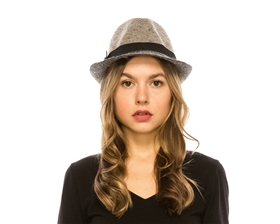 wholesale 2-toned marled fedora