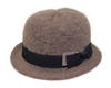 wholesale mohair bowler hat  bow band