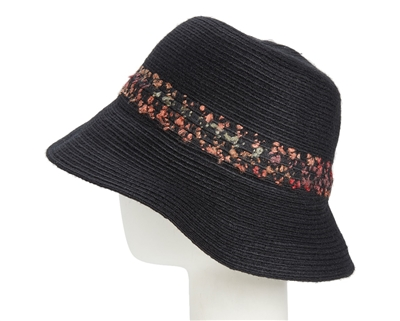 wholesale wooly bucket cloche  speckled band