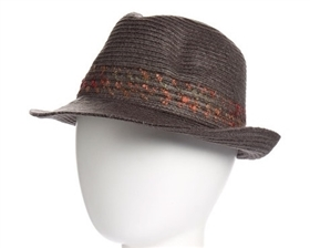 wholesale wooly fedora  speckled band