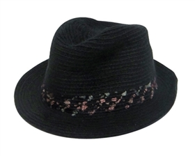wholesale wooly fedoras - speckled band hats