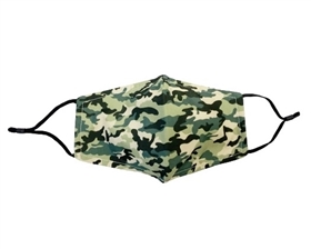 Buy Wholesale Army Green Camo Print Face Masks - Buy Bulk Fashion Facemasks Green Camouflage Digital Wholesale - Fashion Face Covers Los Angeles Wholesaler USA