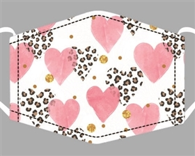 Valentines Day Print Cotton Mask - Buy Bulk Print Face Masks Los Angeles - Novelty Face Mask Buy Wholesale Fashion Facemasks - Buy Volume Reusable Cotton Fashion Face Covers Los Angeles Wholesaler USA