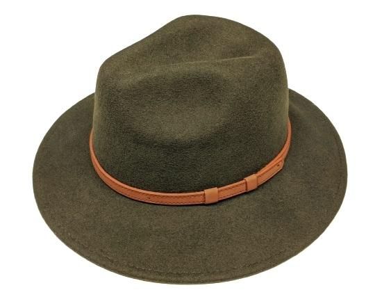 c8c8762800b020 Wholesale Wool Panama Belted - Wool Felt Women's Hat