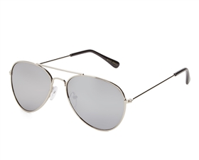 wholesale fashion beach sunglasses - metallic aviators