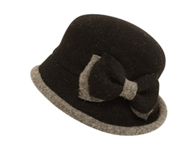 wholesale cloche hats womens winter wool hat