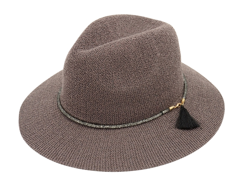 Wholesale Floppy Hats for Women -Fall-Winter Panama Knit 03471a5c46cd