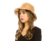 Wholesale Womens Fashion Bucket Hat - Vegan Suede Summer Bucket Hat