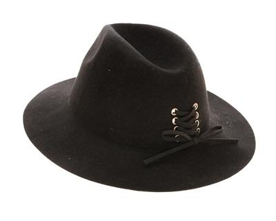 8752e648cce29b Wholesale Wholesale Wool Panama Hats Lace Up Tie - Wool Felt Women's Hat