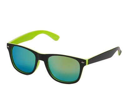 31448 Neon Rubberized Sunglasses
