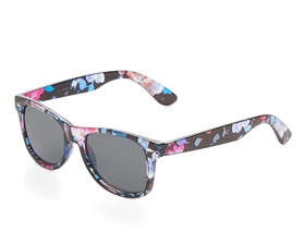 wholesale black floral sunglasses - bulk floral beach sunnies - hawaii sunglasses wholesale