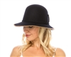 wholesale wool felt bucket hat - womens winter headwear