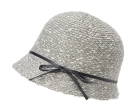 wholesale boucle knit cloche