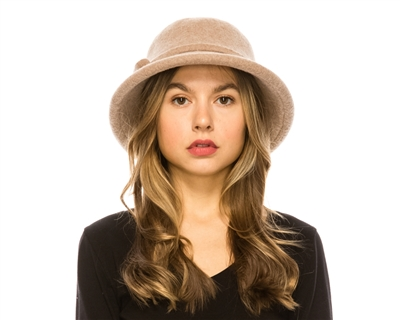 wholesale Roll Brim Wool Hat