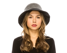 wholesale wool blend hats - fall winter hats wholesale - bucket brimmed hat