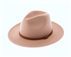 wholesale fall-winter hats - Stiff Brim Panama w/ Braid women's hat