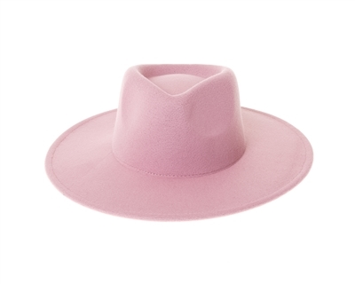 Wholesale Kids Flat Brim Hats Vegan Felt Rancher Hat