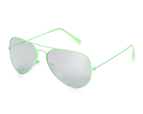 wholesale fashion beach sunglasses - Bright Neon Aviators Fashion Sunglasses