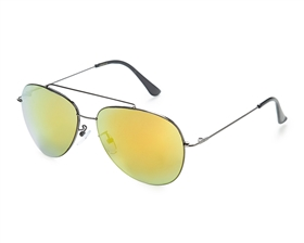 wholesale fashion beach sunglasses - Color Mirror Aviators Fashion Sunglasses