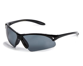 wholesale black sunglasses - Half Rim Sport Wrap Sunglasses