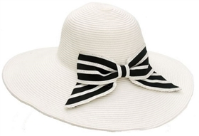 wholesale wide brim hat  large bow