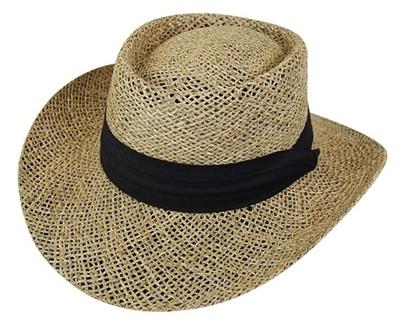 Wholesale Mens Gambler Hats - Seagrass Straw Hat - Los Angeles ... eecbf575621