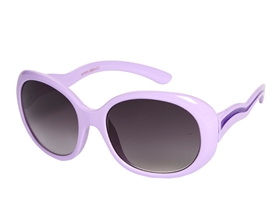 wholesale kids sunglasses - Kids Oval 2 Tone Sunglasses