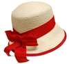 wholesale kids bowler hats - red ribbon girls hats wholesale
