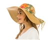 wholesale wide brim  hawaiian wrap