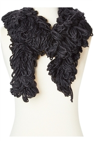 wholesale loopy boa scarves