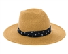 wholesale beach hats - Panama Hat w/ Palm Tree Band