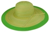 wholesale sun hats blended color with solid edge